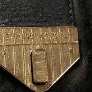 Emporio Armani Black Cross Body Bag
